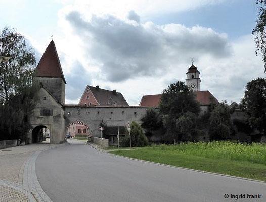 Dollnstein, Torturm der ehemaligen Marktbefestigung