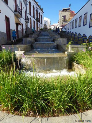 Firgas, Paseo de Gran Canaria