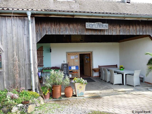 Hofladen bei Schloss Benzenhofen