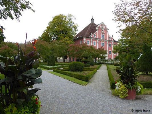 Hofgarten - Blick zum Unteren Tor