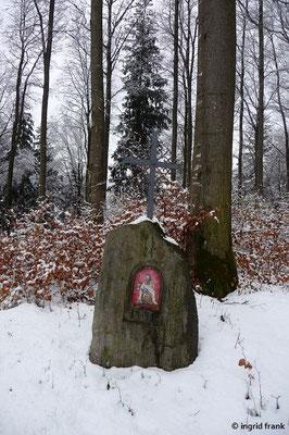 Bildstock in der Nähe der Burg Neuwaldsee