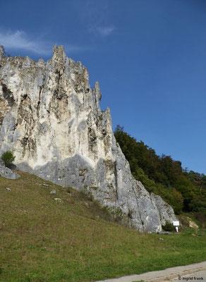 Dohlenfelsen zwischen Konstein und Aicha