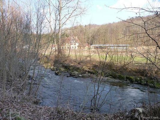 25.03.2012-Blick auf Bahnhof Durlesbach