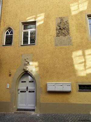 Mittelalterliches Haus in der Inselgasse