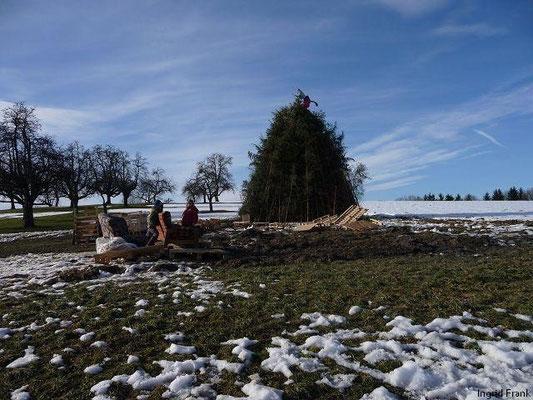 21.02.2010-Am Funkensonntag in Oberhofen