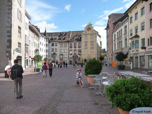 Kurzer Aufenthalt in Schaffhausen