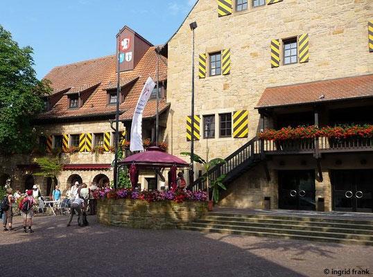 Die Herzogskelter in Güglingen (heute Hotel)
