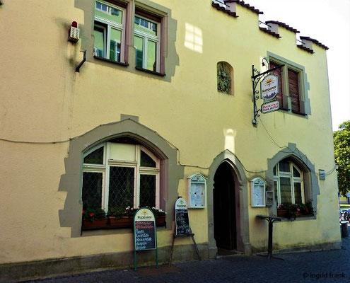 """Spanisches Restaurant """"Costa del Sol"""" an der Ecke Inselgasse / Gerichtsgasse"""