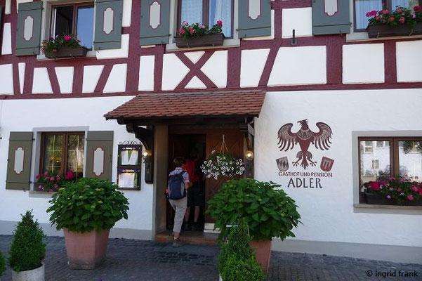 """Gasthof """"Adler"""" in Wittenhofen"""