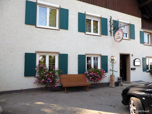 """Landgasthof """"Halde"""" in Herlazhofen"""