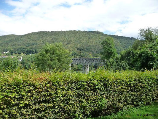 Eisenbahnbrücke nach Hemishofen