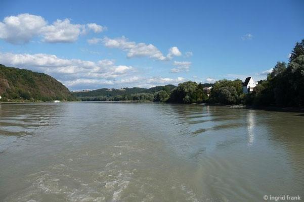 Die Donau nach Passau