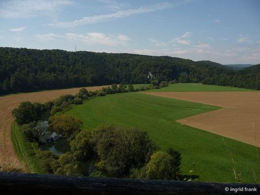 """Blick auf die Donau vom """"Känzele"""" im Klosterfelsengarten"""