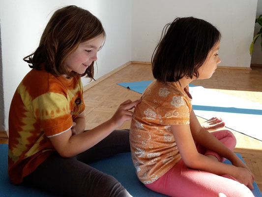 in der Schule - ABC-Massage