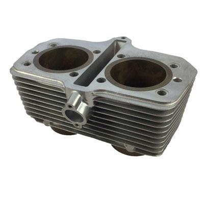 Suzuki GR650,Zylinder, vorne, nachher
