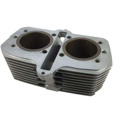 Suzuki GR650, Zylinder, vorne, nachher