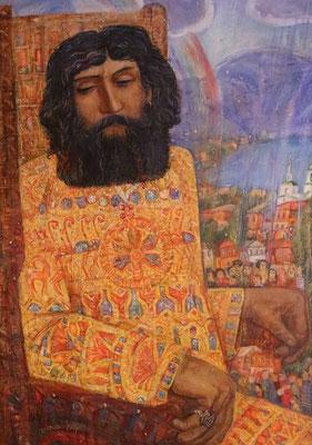 King Solomon, Alexandr Zlatkin, , Öl, Leinwand, 70x100, ID1121