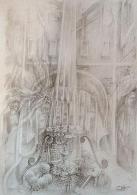 SG001, Vladimir Skripnik, , Bleistift, Papier, 29,7x42, ID1131