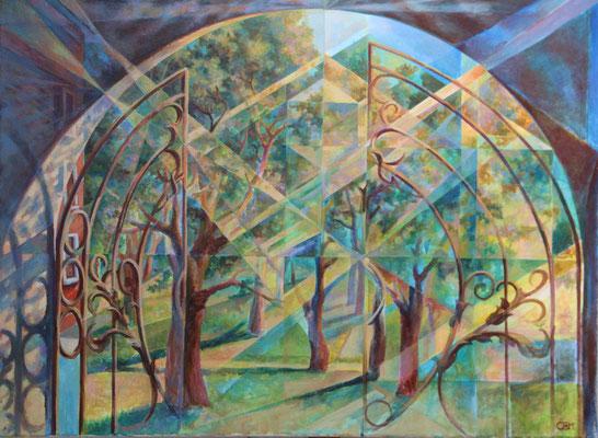 An arch Light, Skripnik W.N., 2016, tempera oil, canvas, 82x62, sold/verkauft, private collection / CH