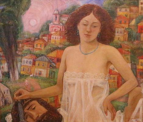 Judith, Alexandr Zlatkin, , Öl, Leinwand, 80x70, ID1337