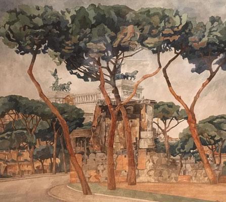 Victor Emmanuel, Otto Eberhardt, 2007, Aquarell, Papier, 66x56cm, ID1360