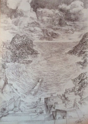 SG005, Vladimir Skripnik, , Bleistift, Papier, 29,7x42, ID1135