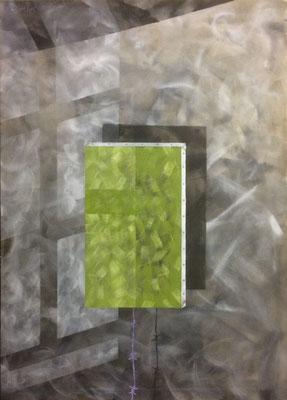Shadow, Shihab Vaippipadath, 2002, Acryl, Leinwand, 85x120cm, ID1281
