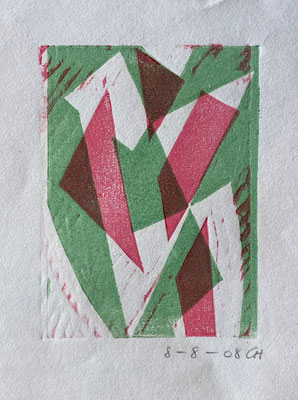 8-8-2008/CH, Christian Gerblich, 2008, Druck, Papier, 11x14cm, ID1811