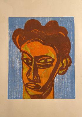 Junger Mann, Shihab Vaippipadath, undatiert, , Papier, cm, ID1714