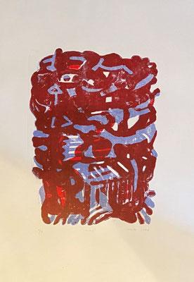 Head, Shihab Vaippipadath, 2004, Druck, Papier, 44x63cm, ID1750
