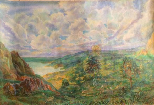 S0013, Vladimir Skripnik, , oil, canvas, 60x90, ID1129