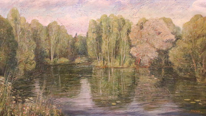Reflection, Alexandr Zlatkin, , Öl, Leinwand, 115x65, ID1119, Preis