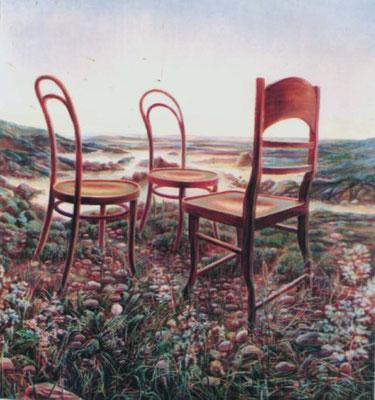Recollection, Vladimir Skripnik, 2001, oil, canvas, 117,5x128,5, ID1037