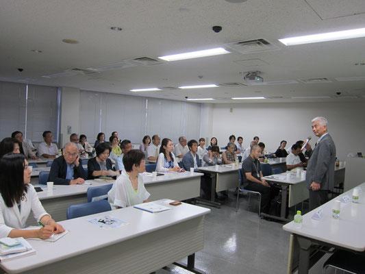 前大田区異業種交流グループ連絡会会長 田中様