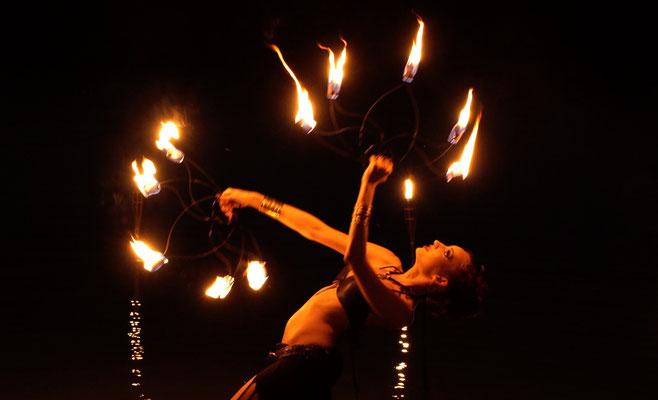 Feuershow Firmenfeier Berlin
