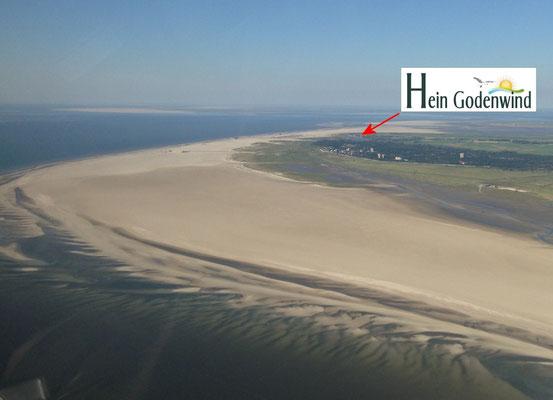 Sie wohnen unmittelbar an der größten Sandbank Europas