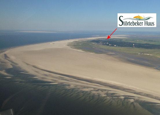 Sie wohnen unmittelbar an europas größter Sandbank