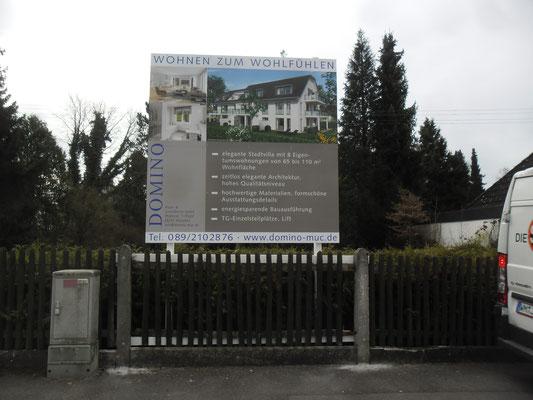 Bauschilder Holz München Süd