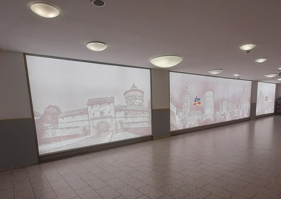 LED Leuchtwände 3m hoch Nürnberg