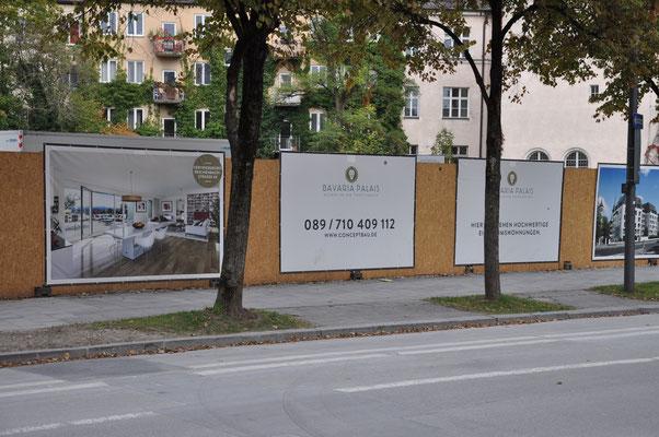 Bauzaunbanner Großdrucke München Bavaria