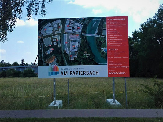 Bautafel Systemfundamente  diesignwerker Landsberg Lech