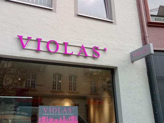 VIOLAS Augsburg LED Lichtwerbung