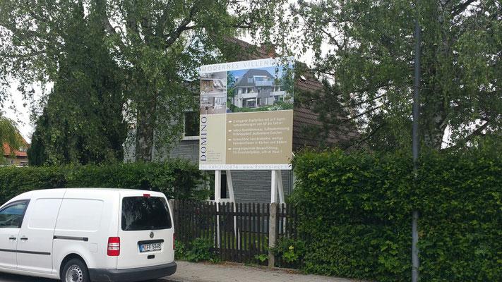 Holz Bauschilder München 3x2m