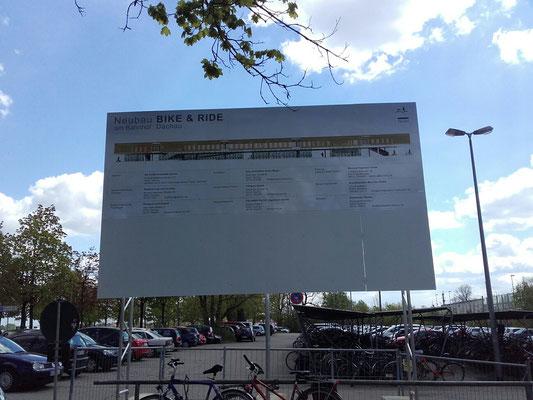 Miet Bautafel Aluminium 5x3m Dachau