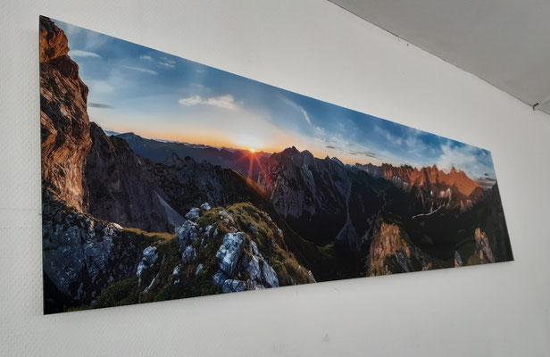 Alu-Dibond Wandbild Panorama