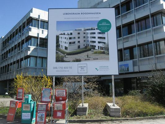 Miet Bauschild mobil Fundamente 4x4 München Bogenhausen
