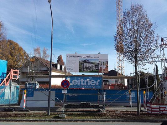 Alu-Bauschild 4,5x2m München