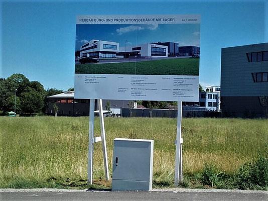 Bauschild holz 3m München