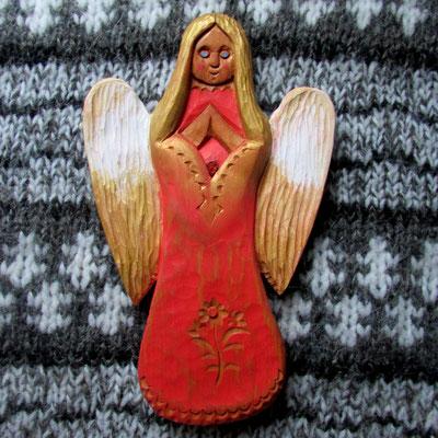 Numer 31              anioł duży rzeźbiony