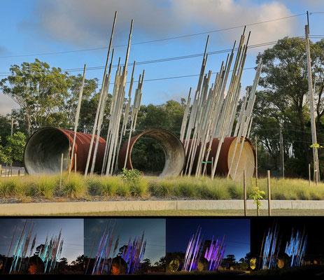 """""""Aqua Profunda"""" 2013 Potts Hill, Sydney, NSW"""